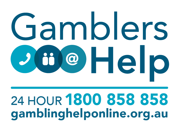 Image of Gamblers Help logo that links to the Getting Help page.