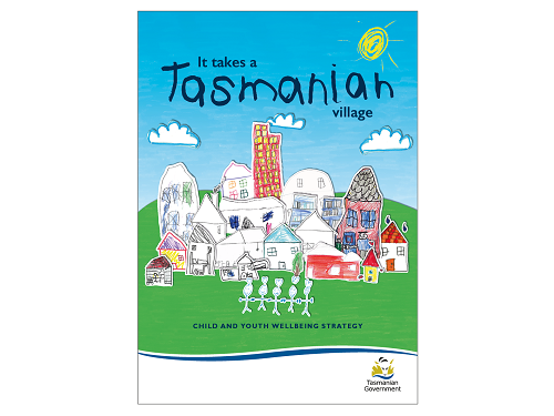 Cover of It Takes a Tasmanian Village report