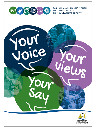 Cover of Child and Youth Wellbeing consultation report